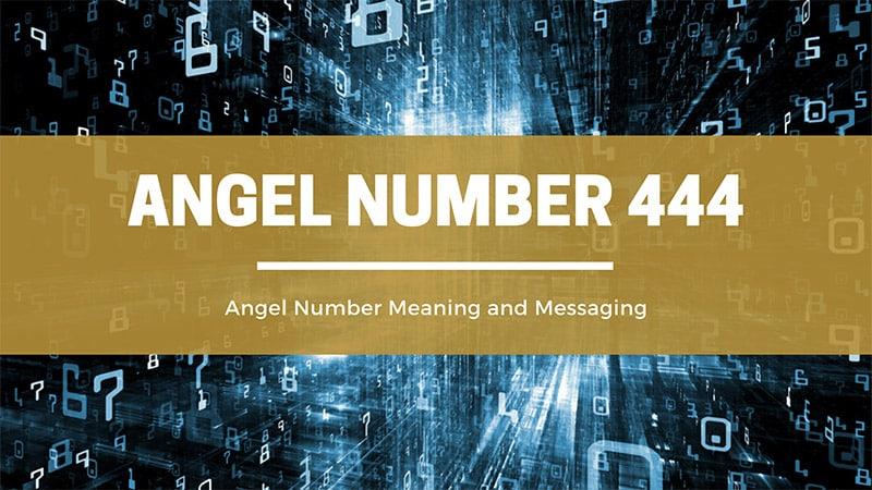 angel number 444