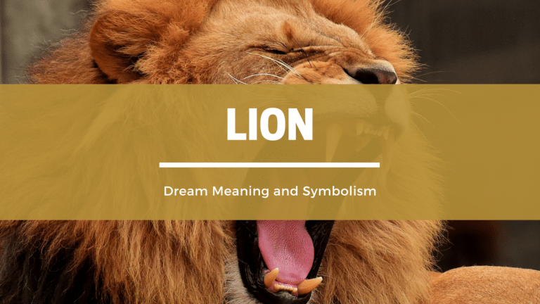 What Does It Mean To Dream of a Lion? Dream Meaning and Symbolism